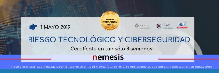 Certificación en Riesgo Tecnológico y Ciberseguridad